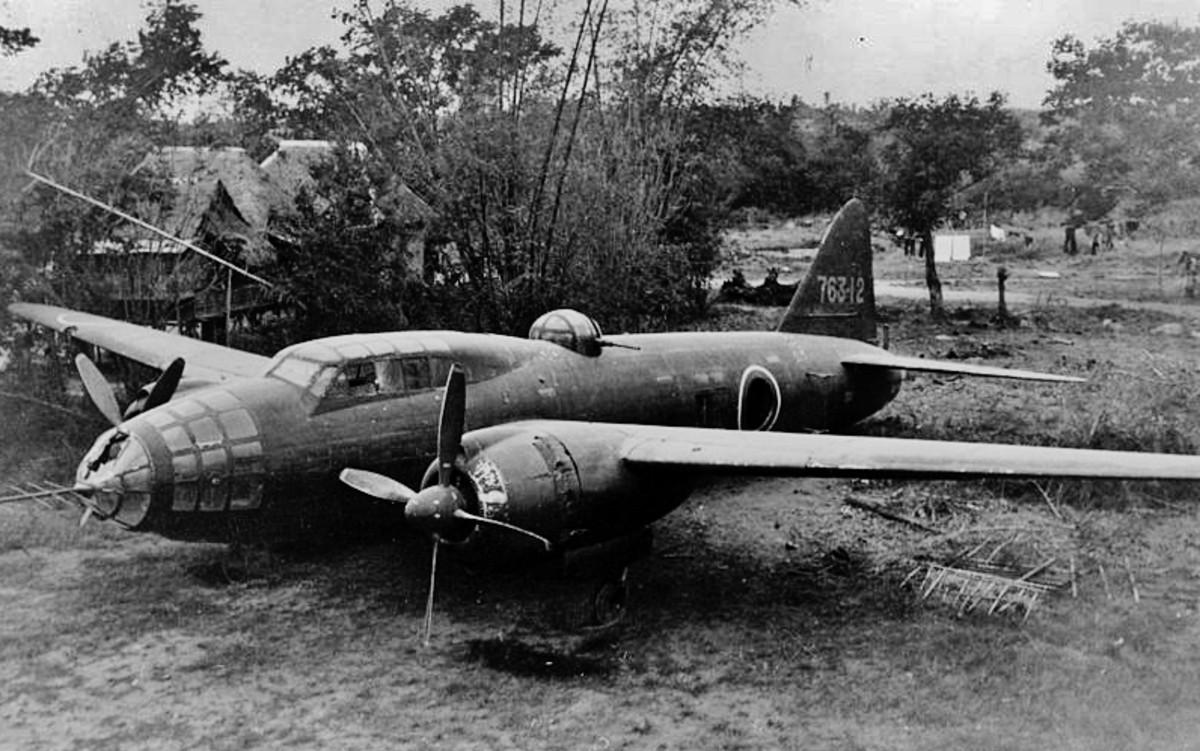 Japanese Mitsubishi G4M Bomber