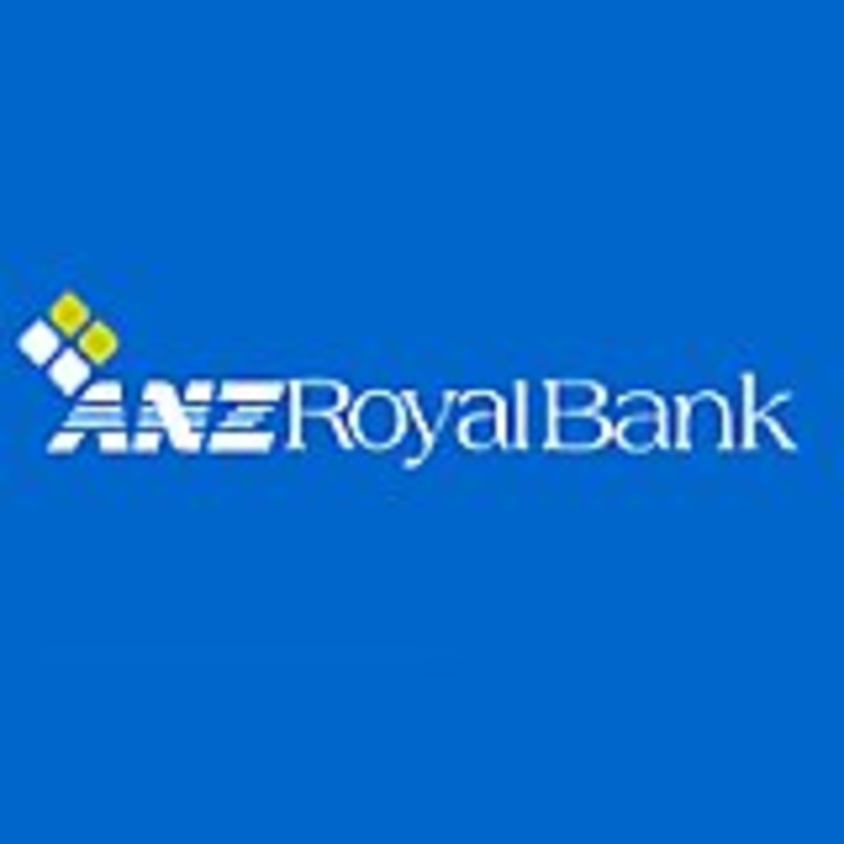 ANZ Bank Logo - Has more ATM locations than any other bank in Cambodia.