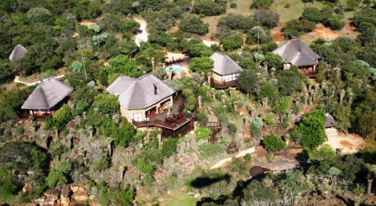 Iwamanzi Game Lodge at Koster, South Africa