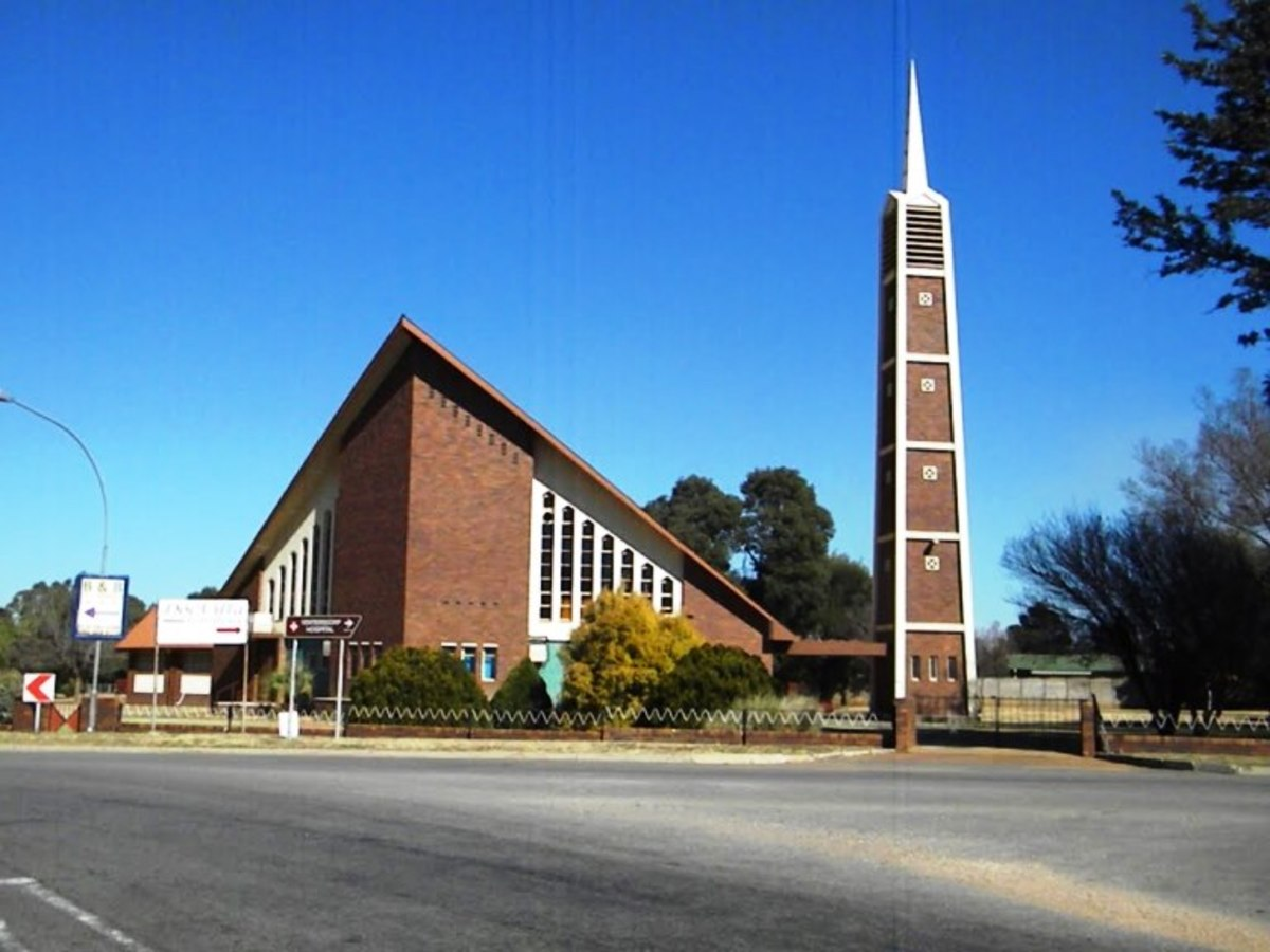 Dutch Reformed Church, Ventersdorp-North, South Africa