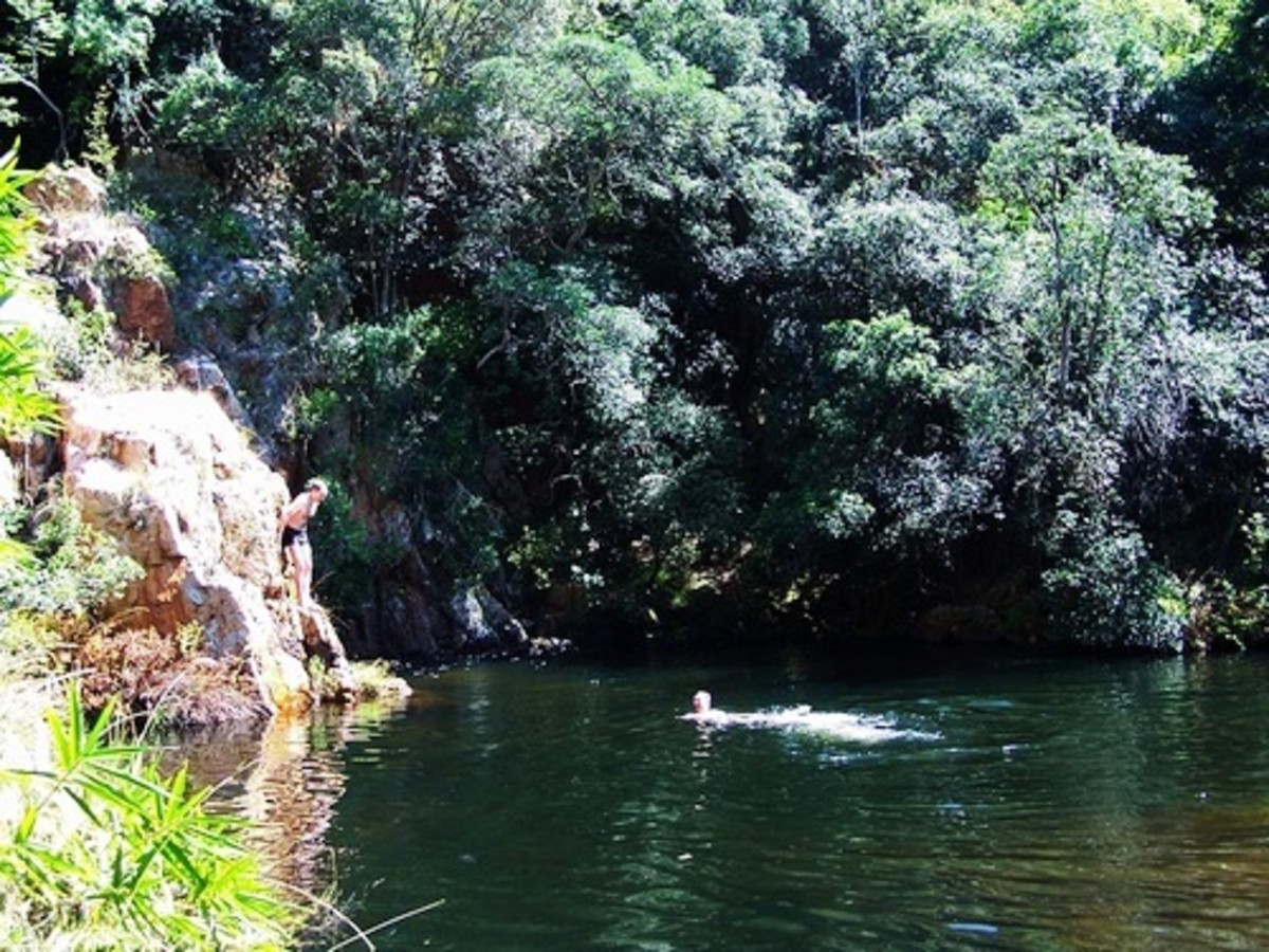 Big Pool Rustenburg Nature Reserve by mullerh