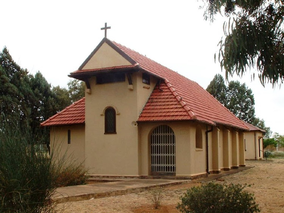 St John's Catholic Church, Ventersdorp, Souith Africa