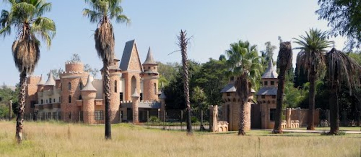 Pan Rustenburg Castle at Rustenburg, North-West.