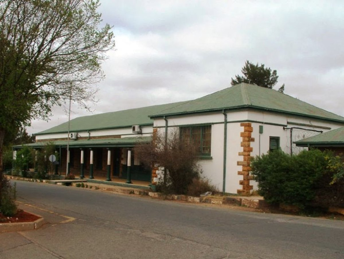 Old Landdrost Court in Ventersdorp, South Africa