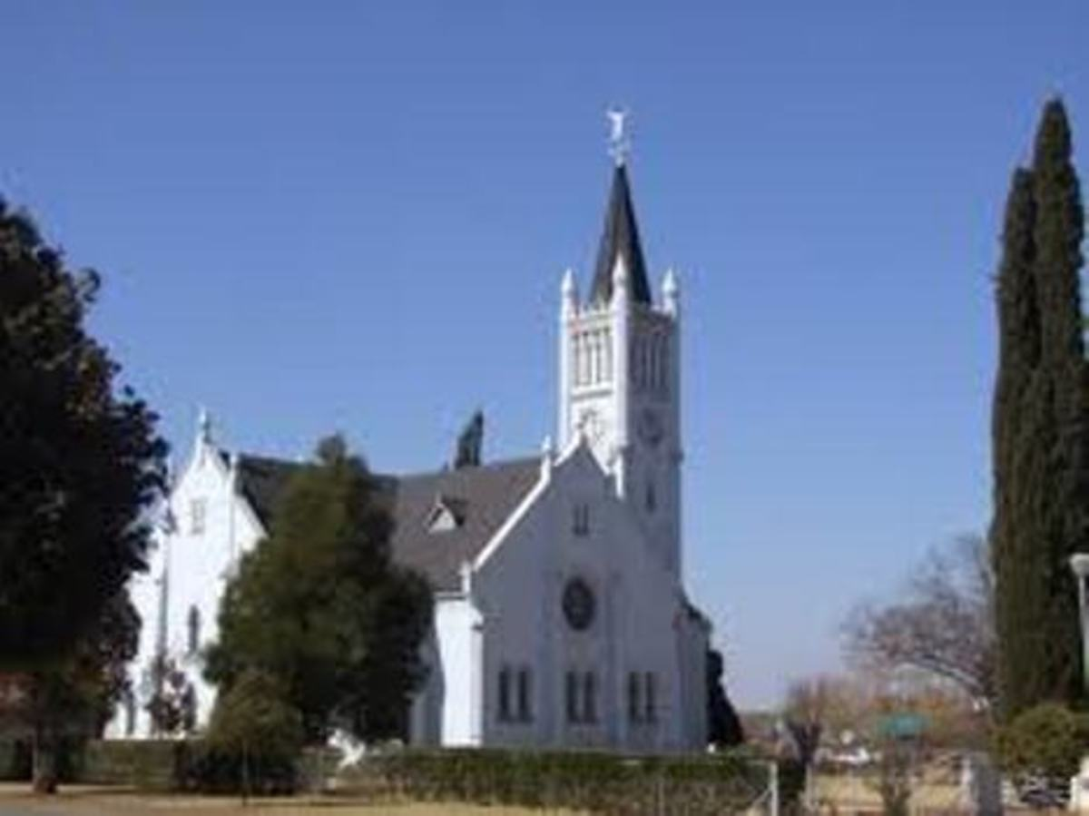 Reformed church in Ventersdorp, South Africa
