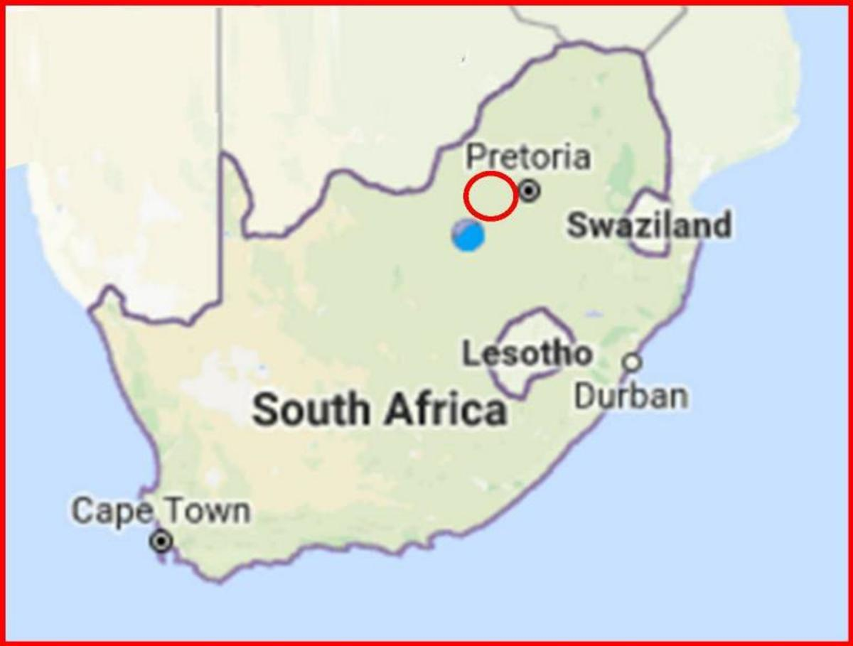 South Africa - Focus area: Pretoria to Klerksdorp