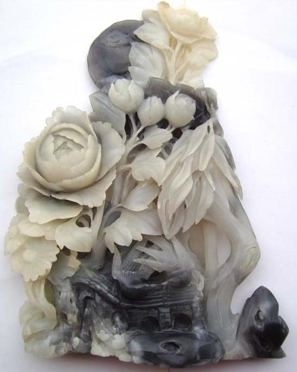 Dark Jade Sculpture ()