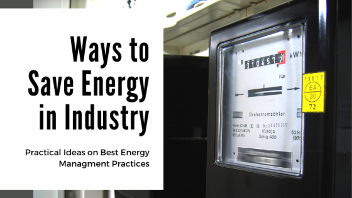 Practical Ways to Save Energy in Industry