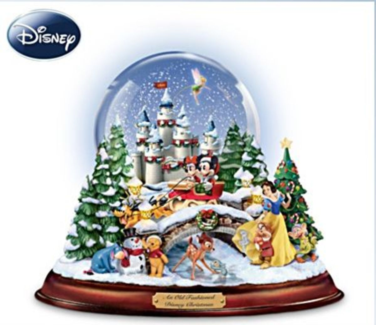 Disney Old Fashioned Christmas Globe