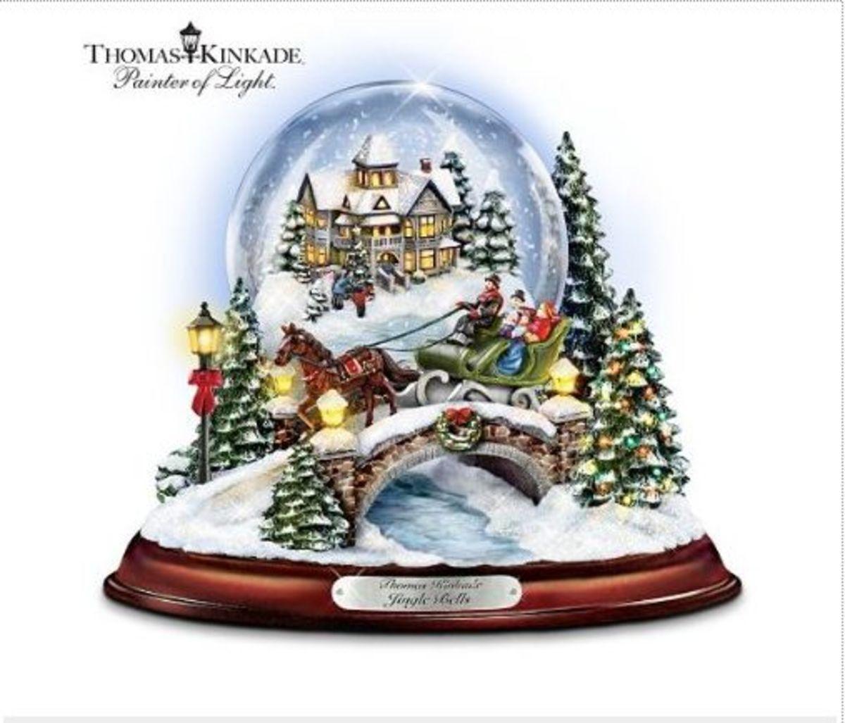 Thomas Kinkade - Christmas Globe