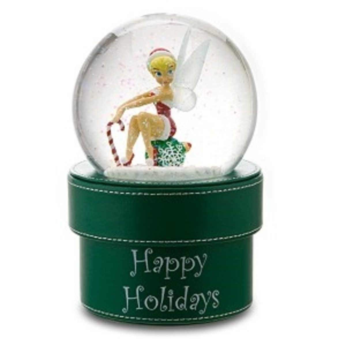 Tinkerbell Christmas Snow Globe