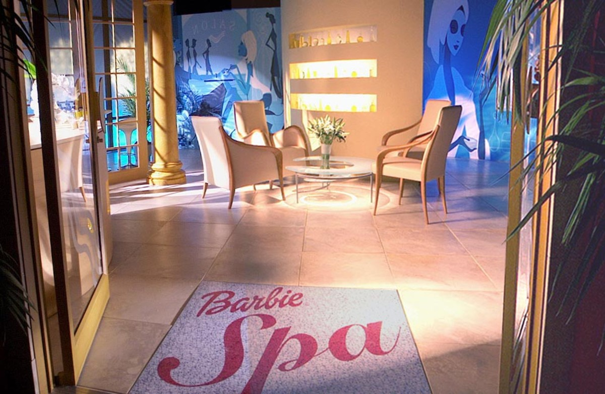 Barbie Spa in Shanghai via markherdman.com