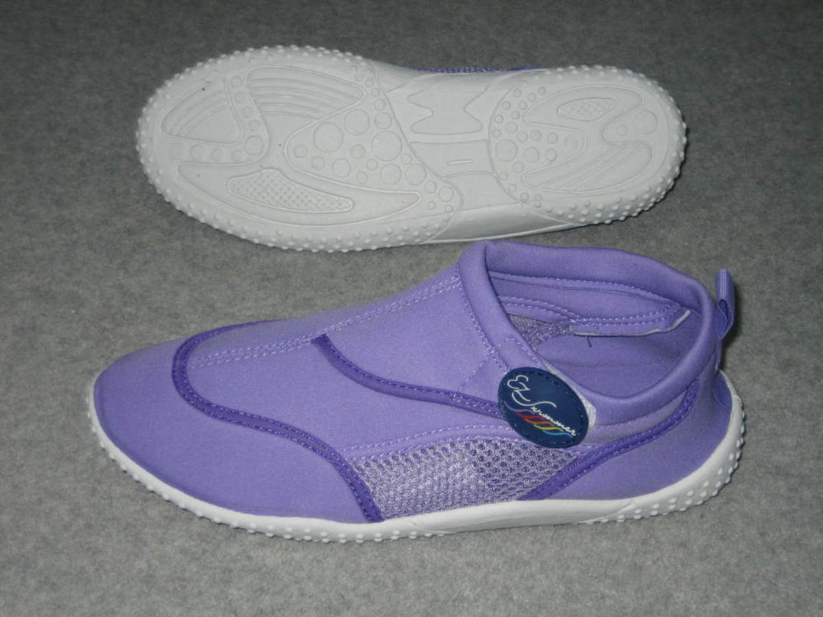 Swim slippers by EZ Swimmer - Water Shoe in Purple