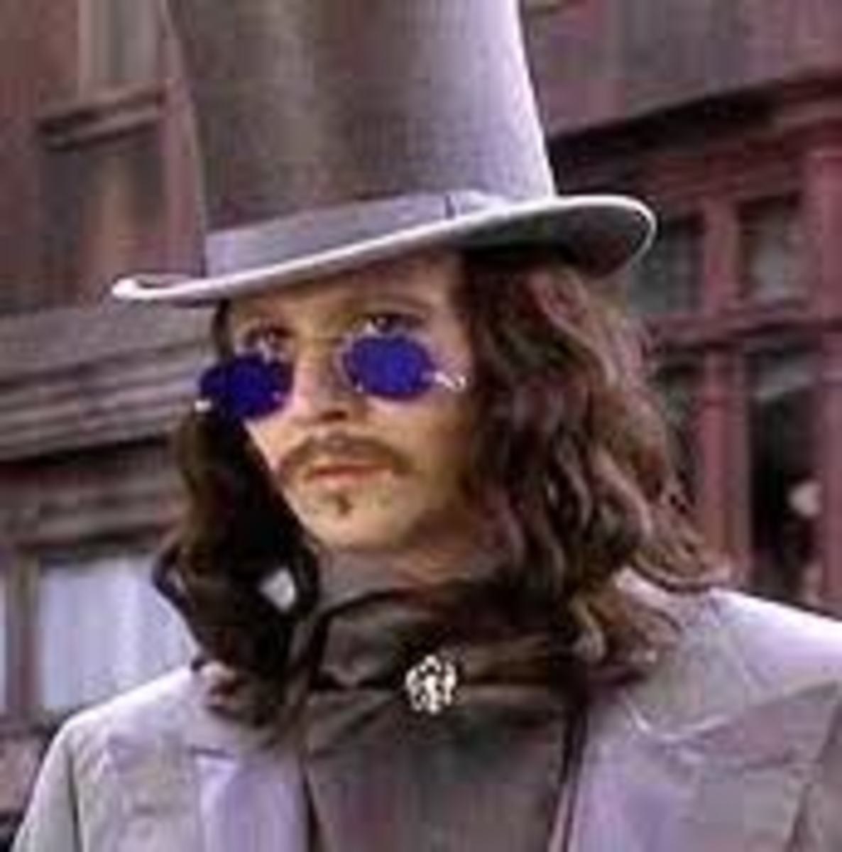 Gary Oldman as Dracula looks just like me in a top hat and suit.