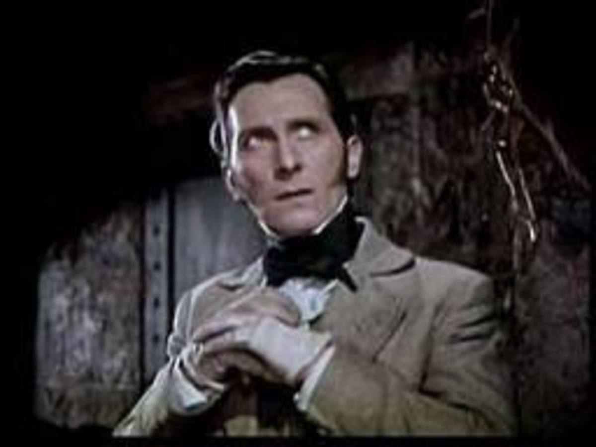 "Dr. Viktor Frankenstein as portrayed by Peter Cushing in ""Dracula"" (1958)"