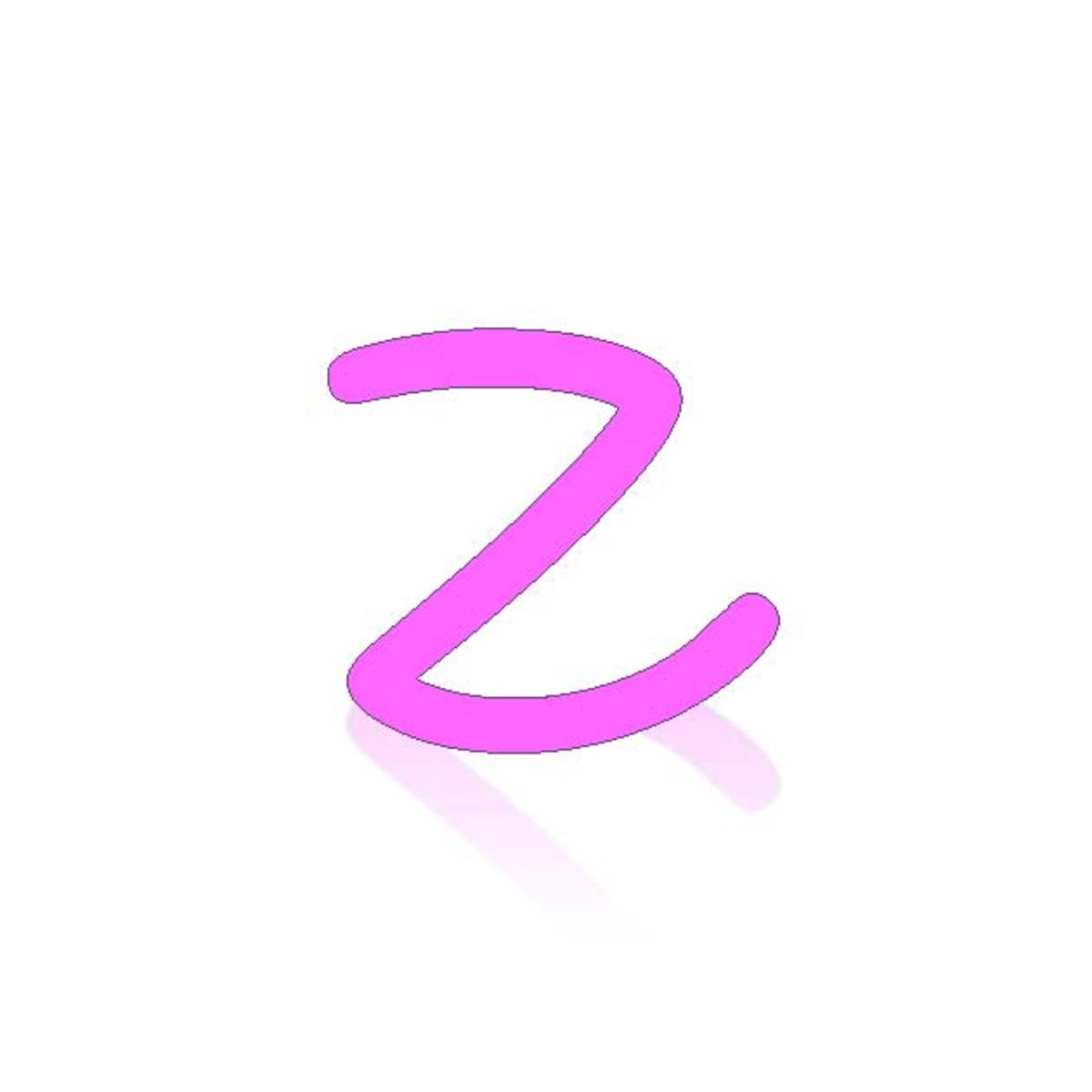 Acrostic Name Poems for Girls Names Starting with Z