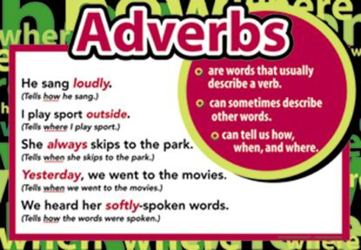 what-does-an-adverb-modify