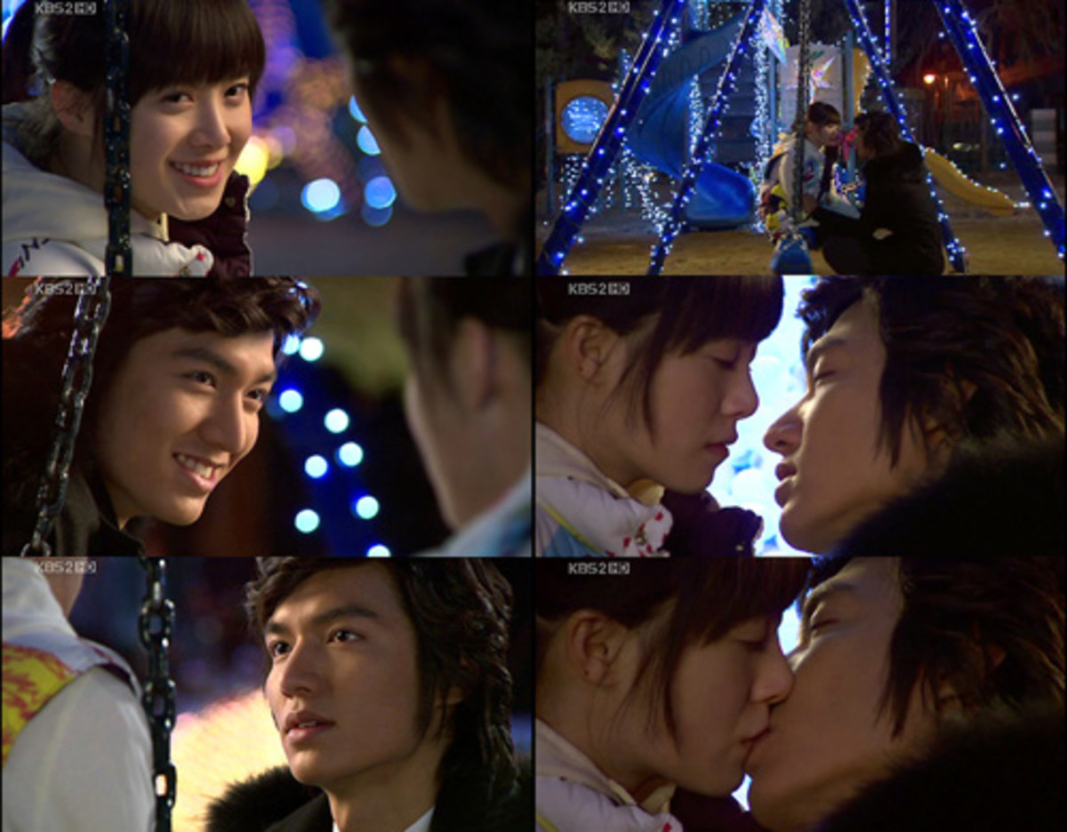 Geum Jan di and Goo Jun Pyo from BOYS OVER FLOWERS