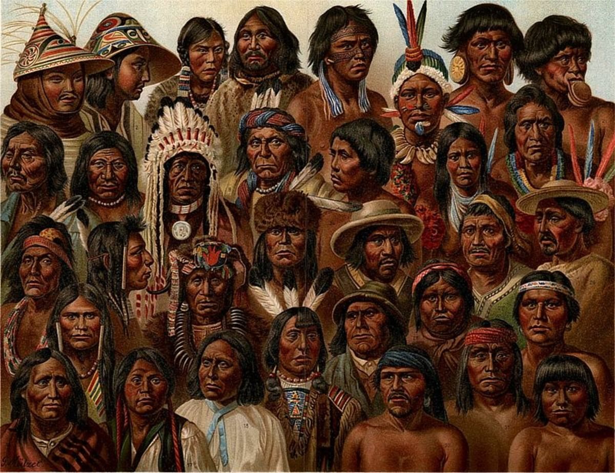 Native Americans In The Lower 48 States