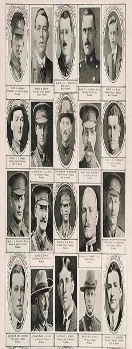 These were real men, with real families, real lives and real hopes.  None of those hopes were to die!