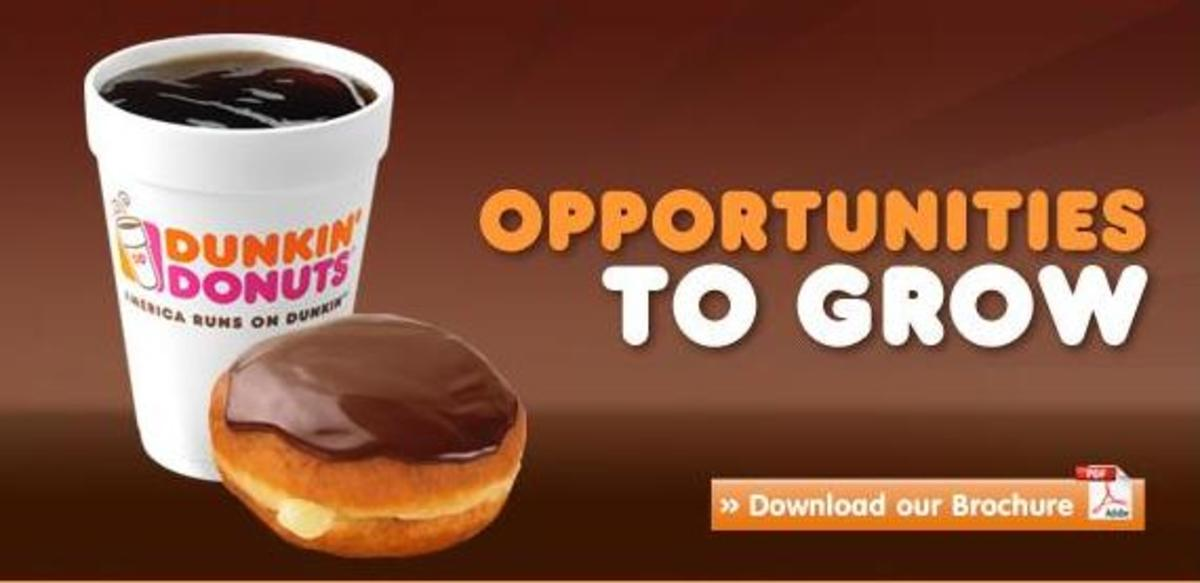 courtesy of Dunkin Donuts