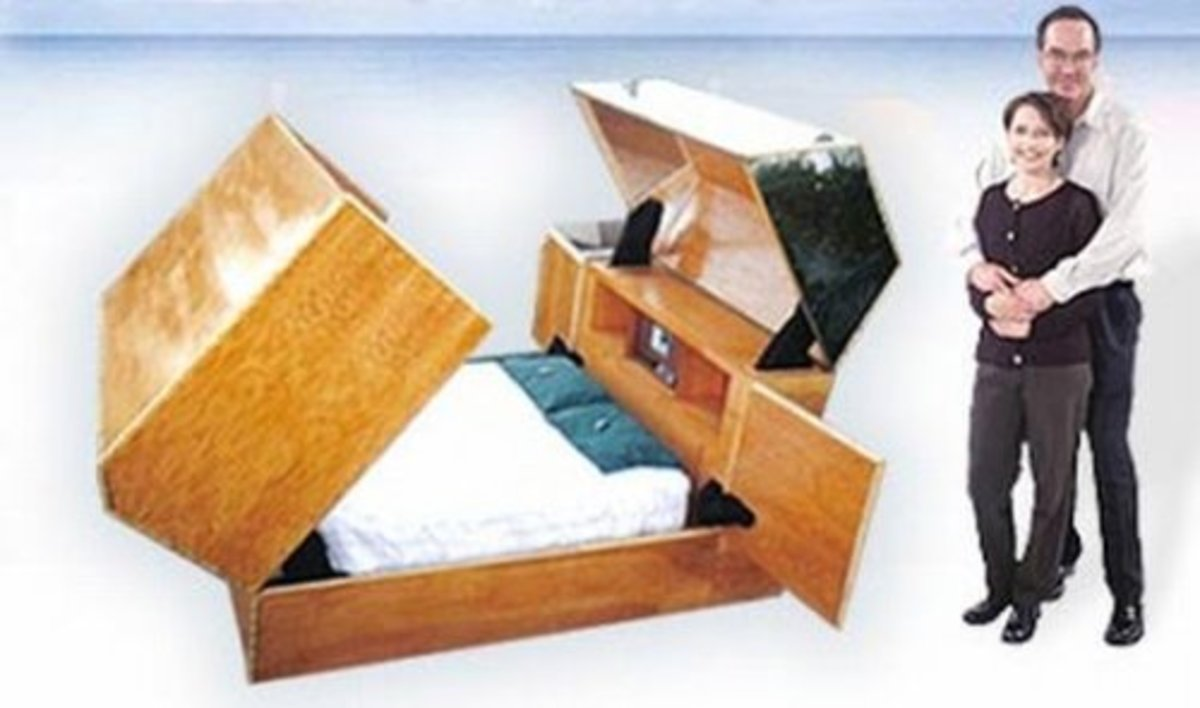 10 Crazy Bed Designs