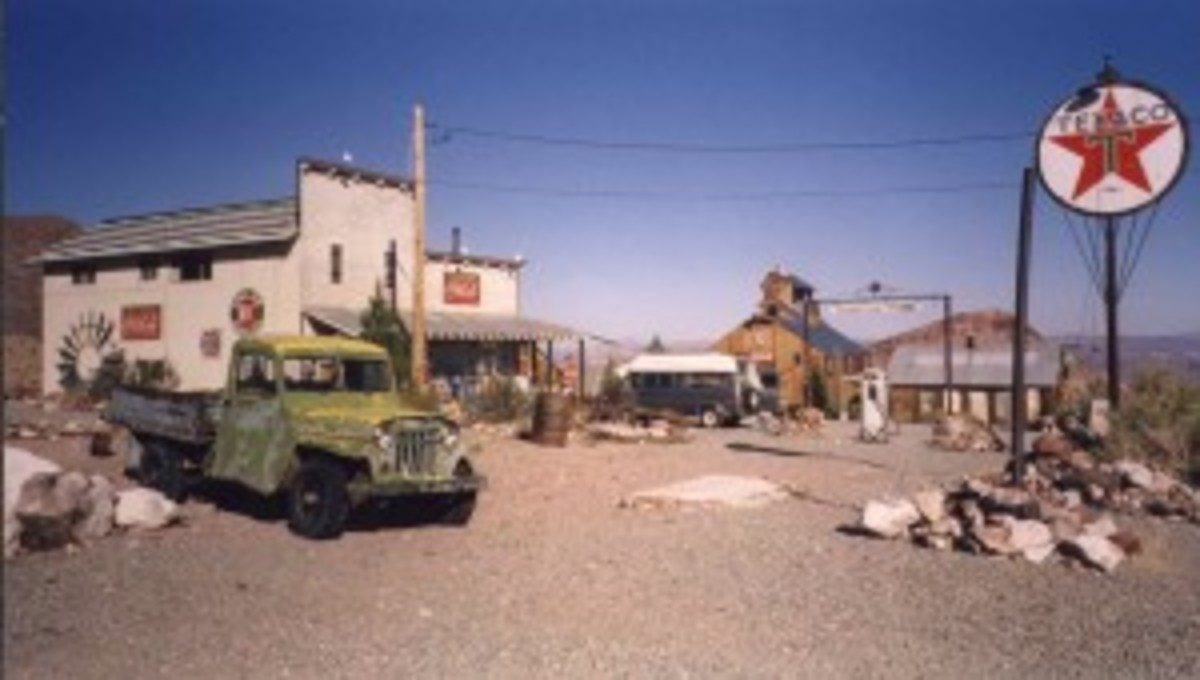Nelson,  Nevada - A Ghost Town, And The Techatticup Mine