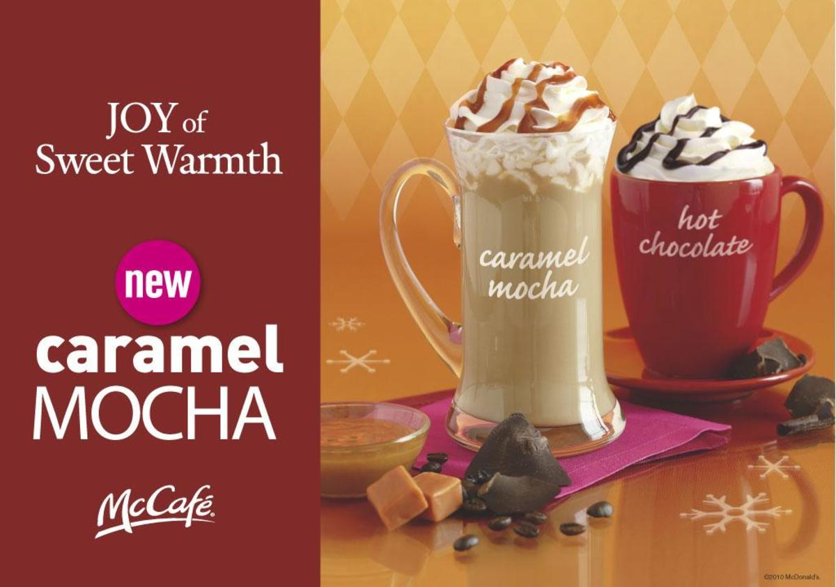 McDonalds McCafe Caramel Mocha Review Including Cost and Nutrition
