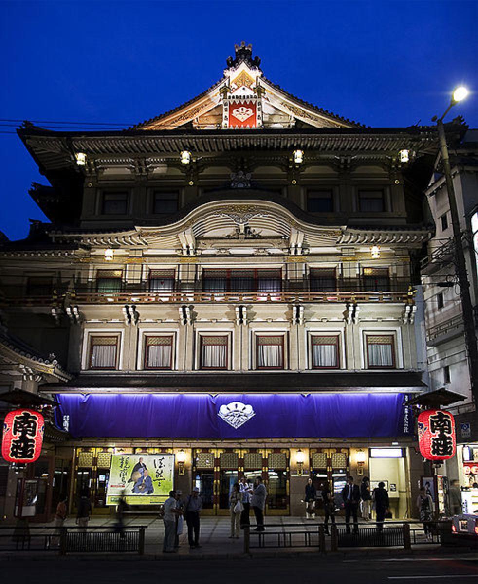 Minamiza Theater Kyoto
