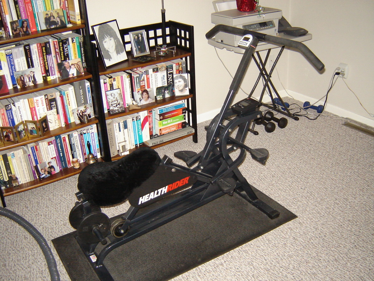 Buy a HealthRider instead of an exercise bike