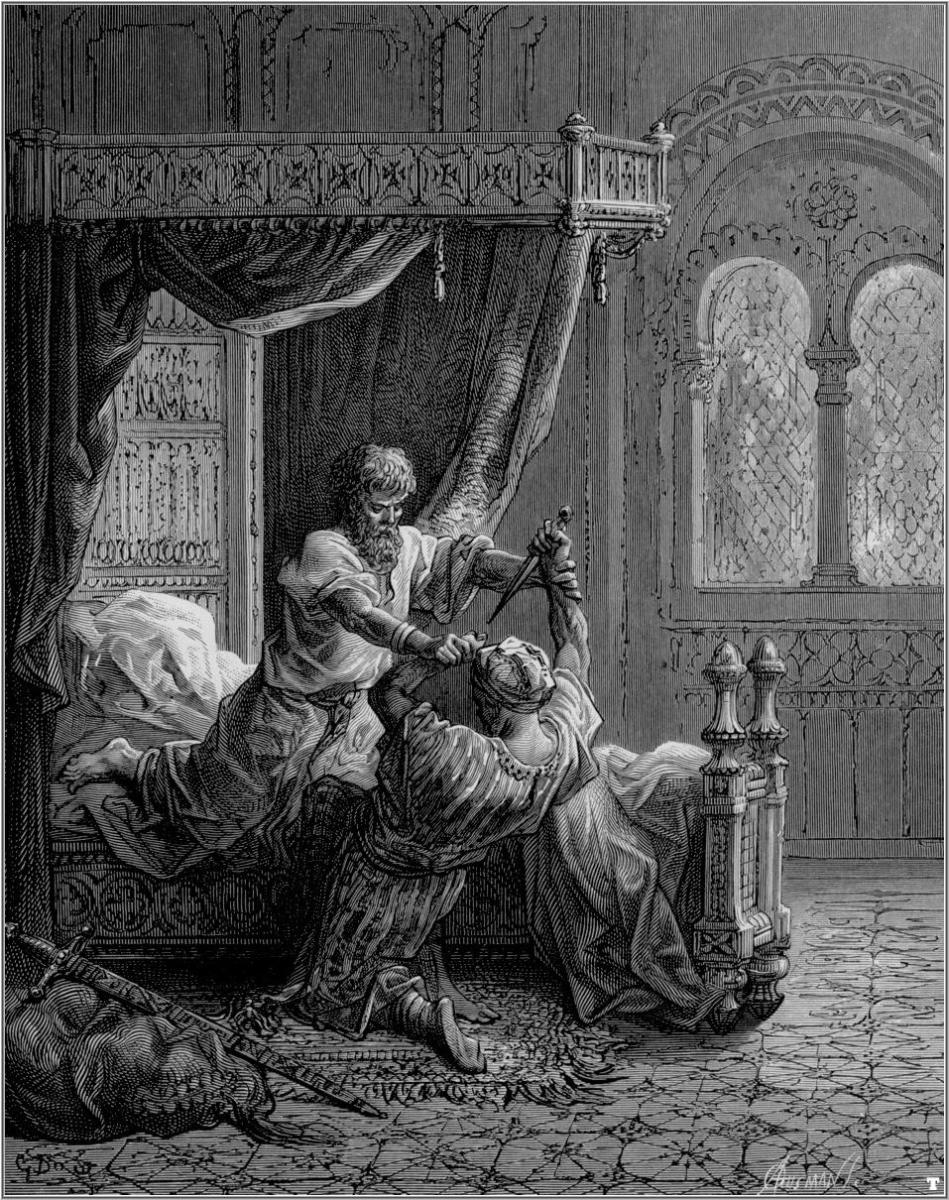 Crusades: Edward I killing an Assassin