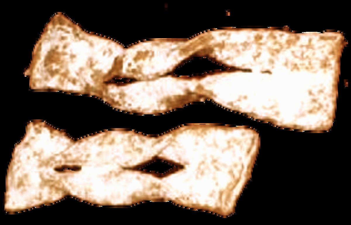 Chrusciki or Polish Bow Ties