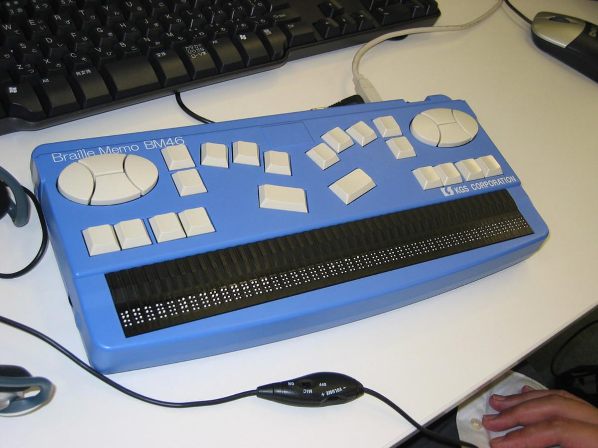 Braille Display. Image by Kazuhito Kidachi