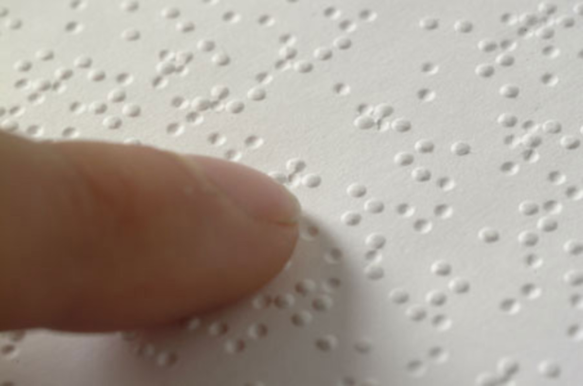Braille. Image by Lrcg2012 - Own work, CC BY-SA 3.0