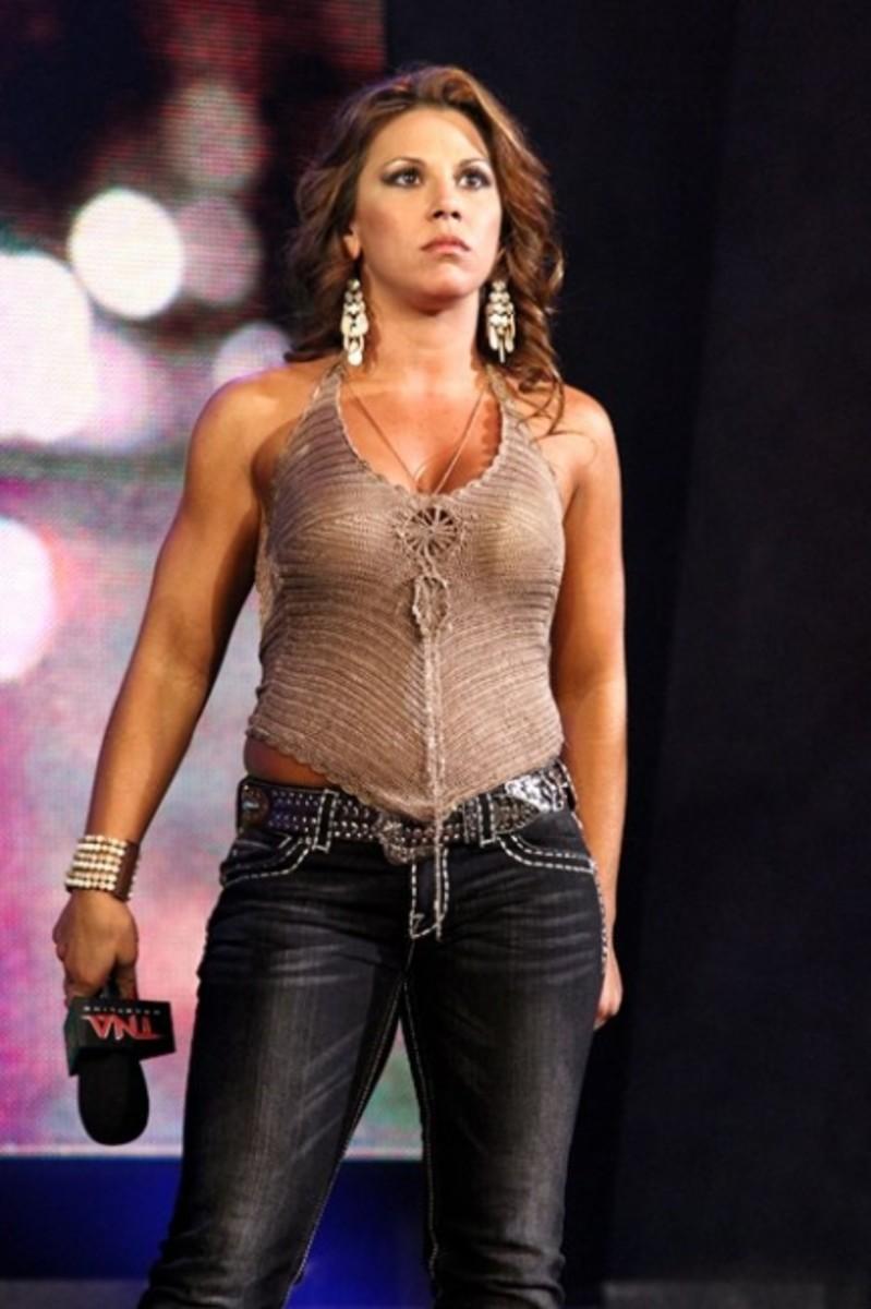 Mickie in TNA