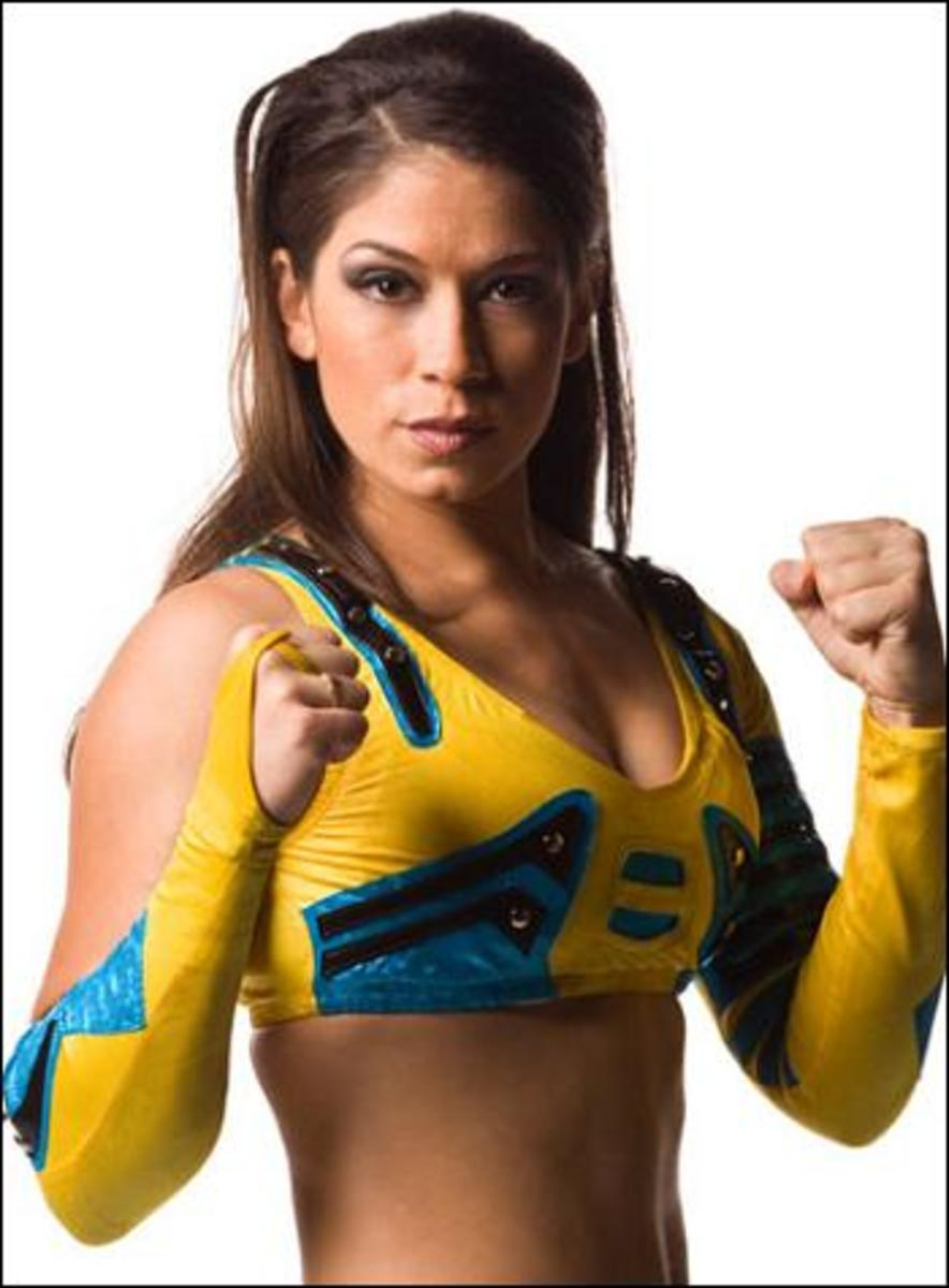 Sarah as Sarita in TNA