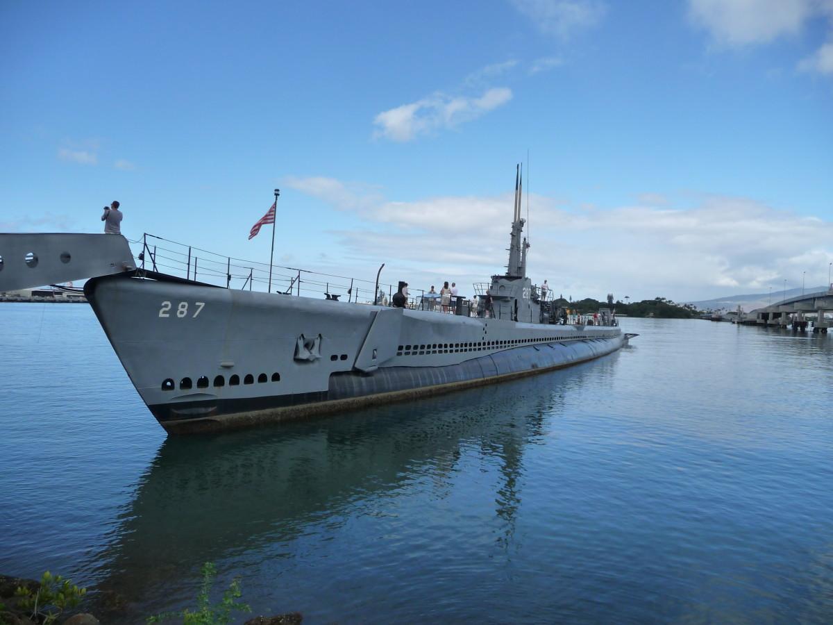 USS Bowfin Diesel Submarine