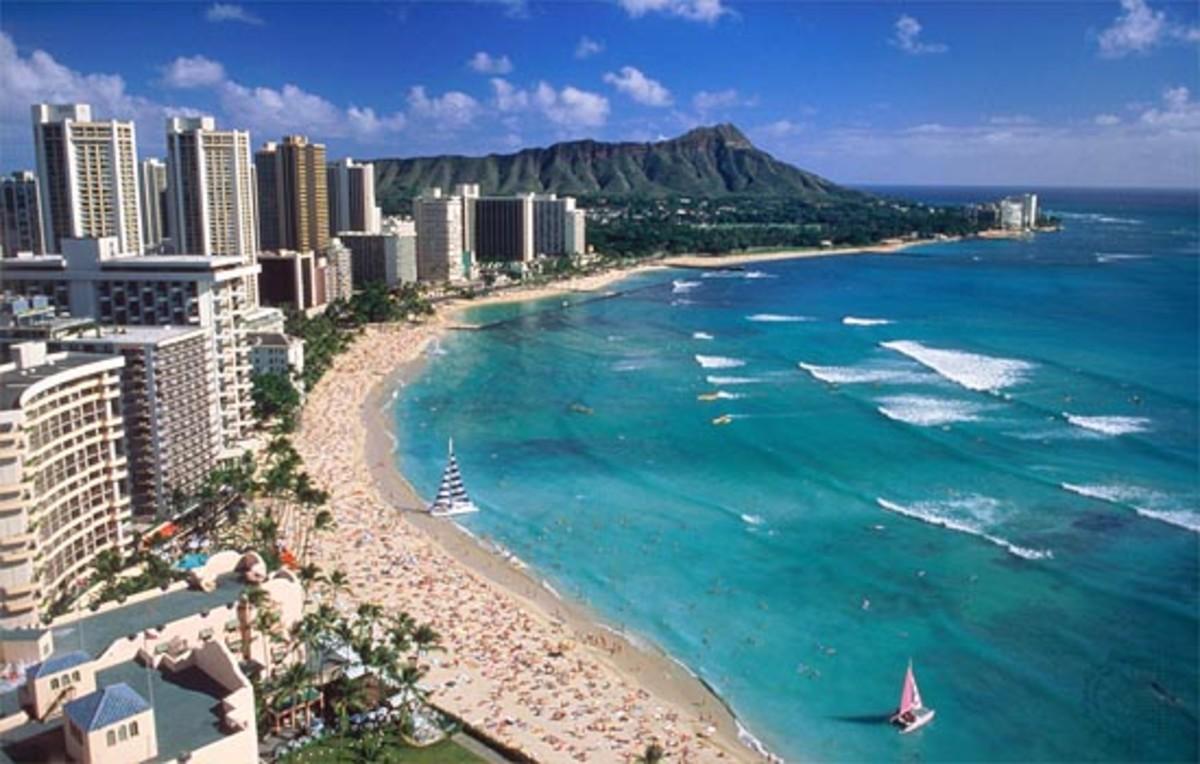 Pristine Waikiki Beach