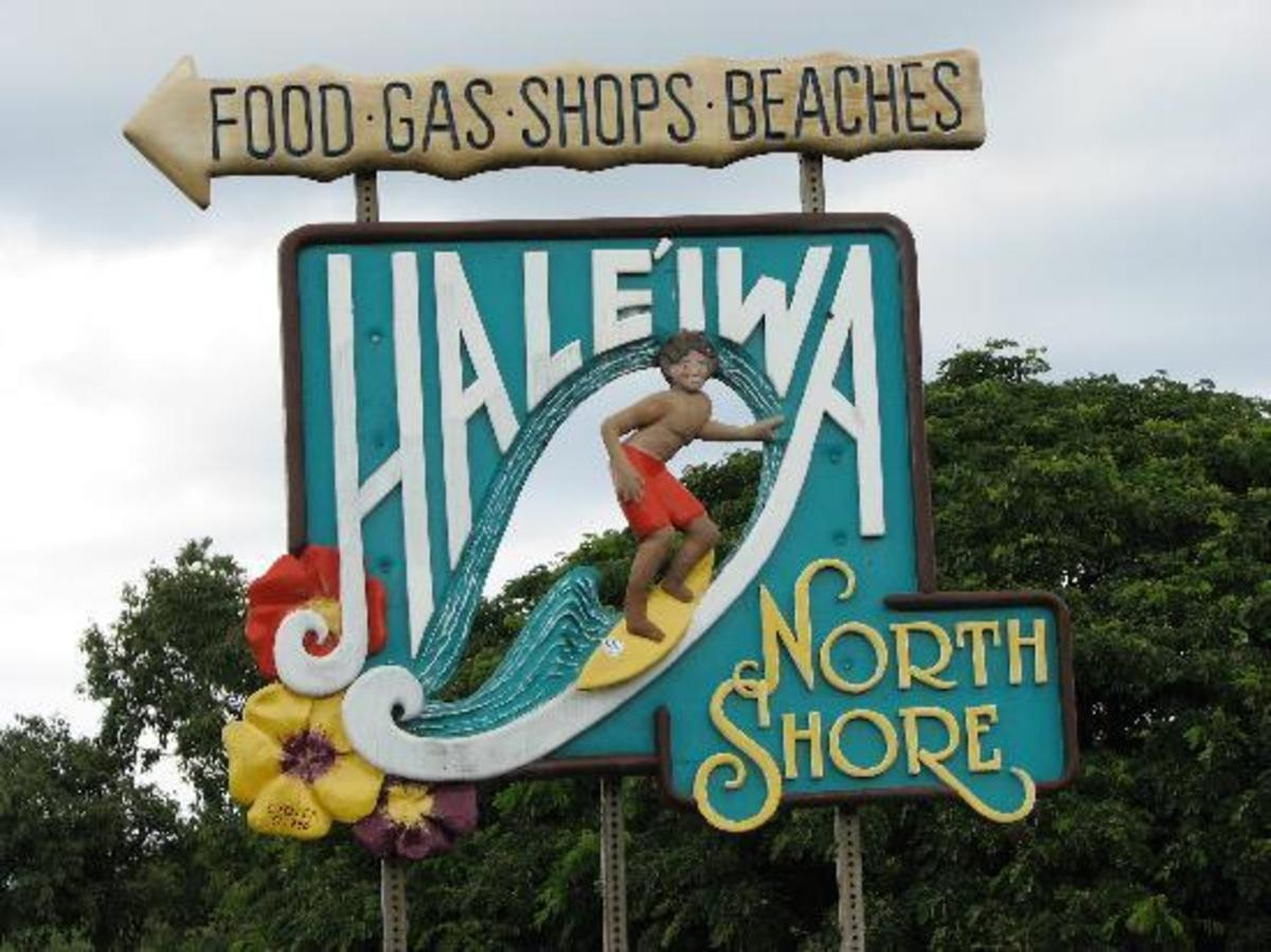 Haleiwa and North Shore...this Way!