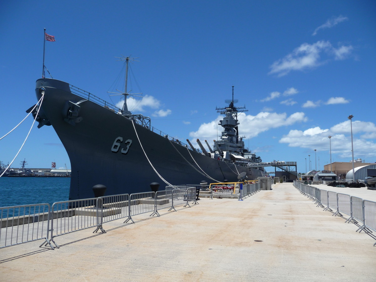 USS Missouri - The place in which Japan exited World War II