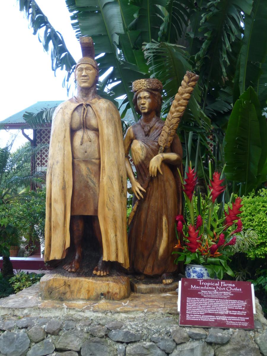 Entrance to the Macadamia Nut Farm (Tropical Farms Hawaii)