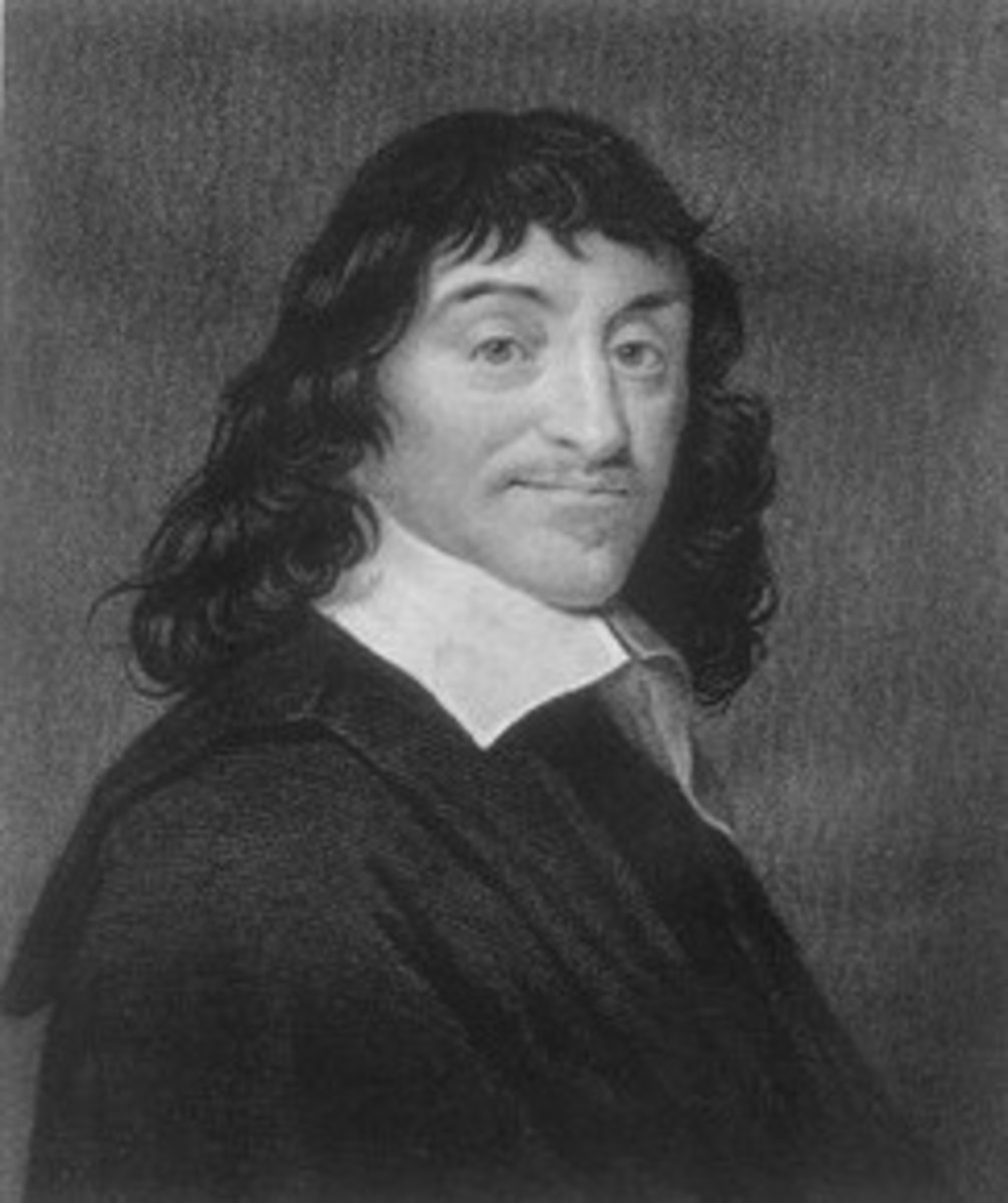 Rene Descartes, author of Meditations on First Philosophy.