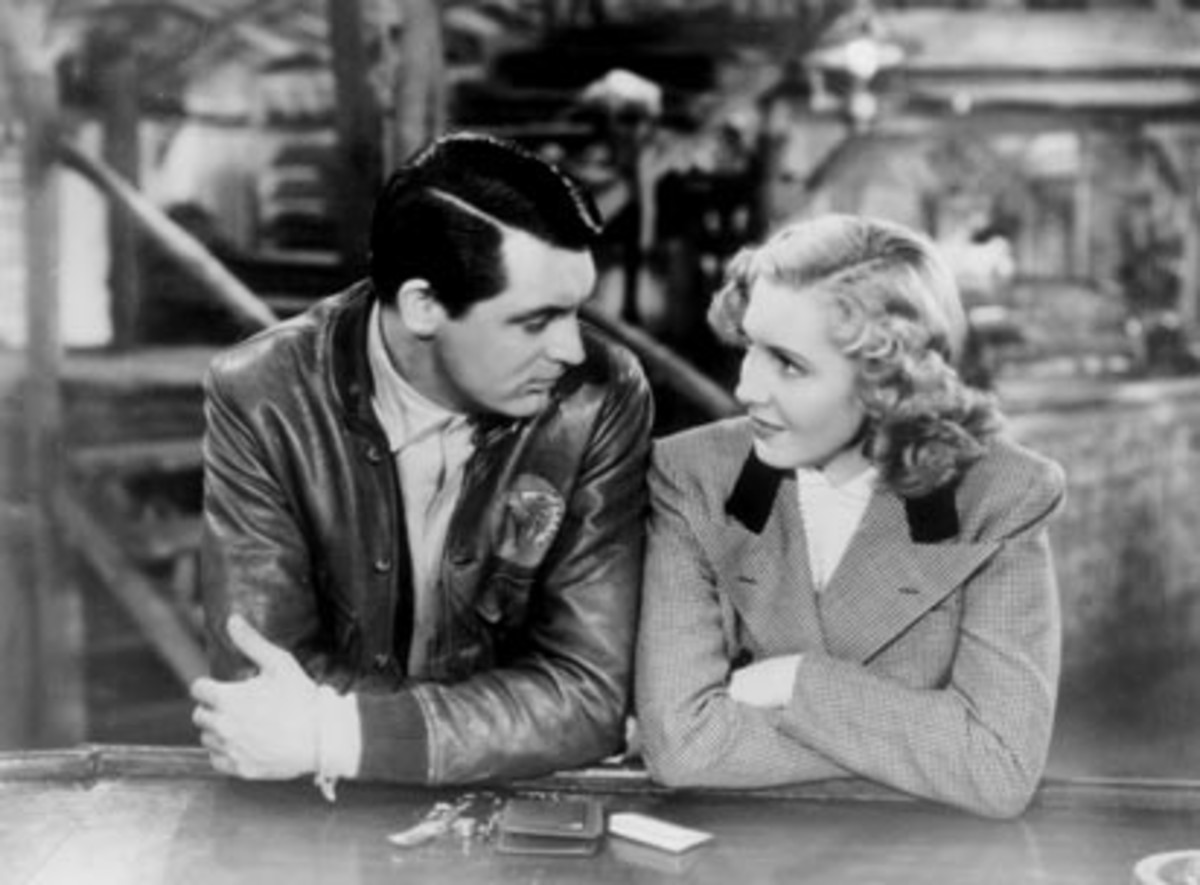 Grant and Jean Arthur