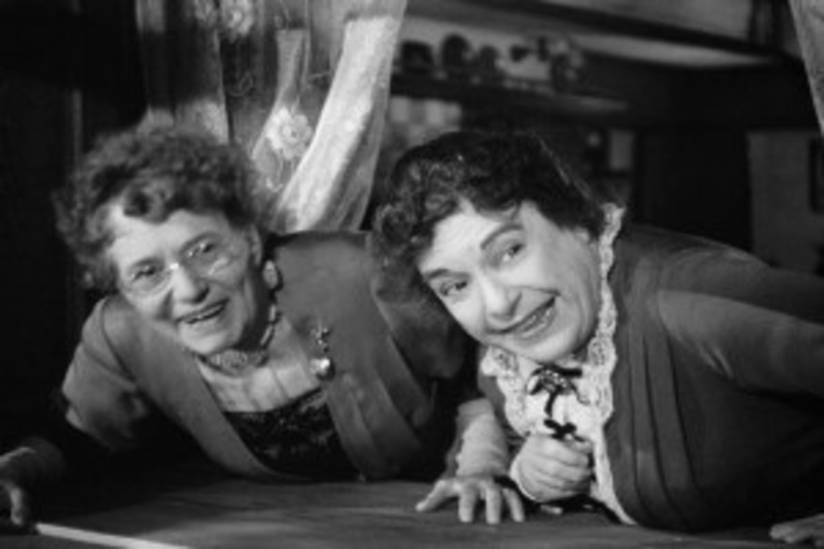 Jean Adair and Josephine Hull