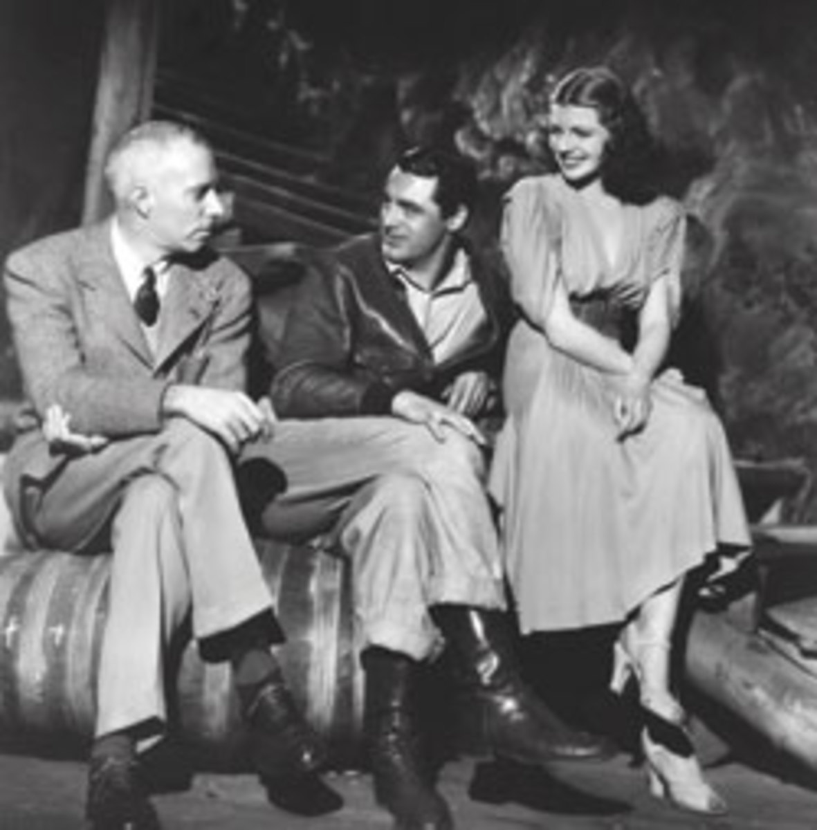 Richard Barthelmess, Grant, Rita Hayworth