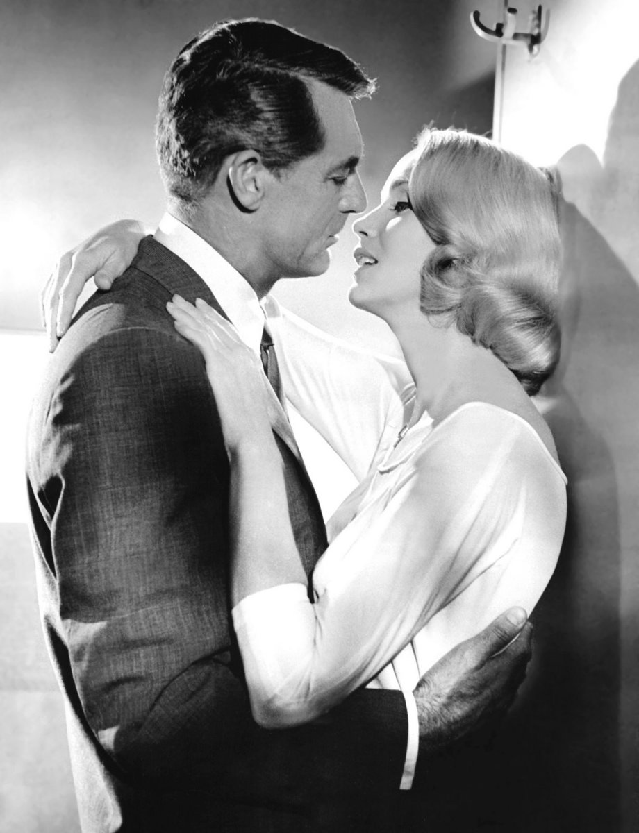 Grant with Eva Marie Saint