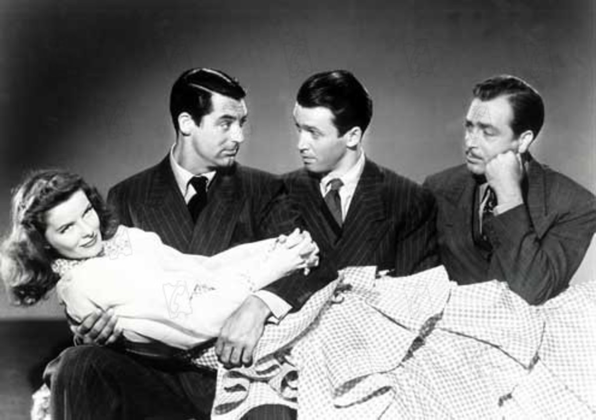 Publicity shot Grant, James Stewart, and John Howard