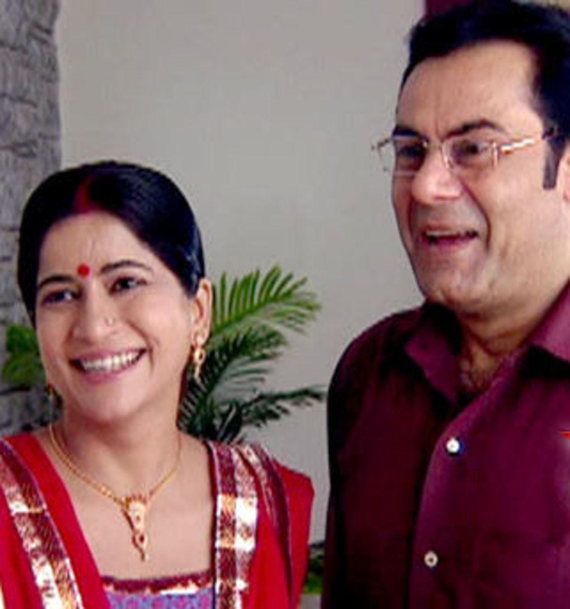 Divya's Parents - Pratap and Hemlatha