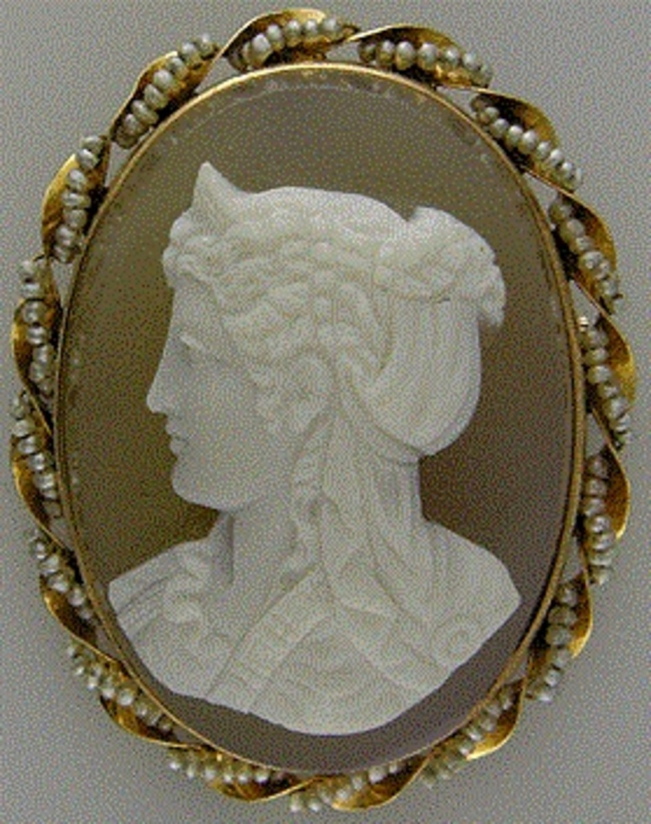 Sardonyx Cameo of Diana,  The Huntress
