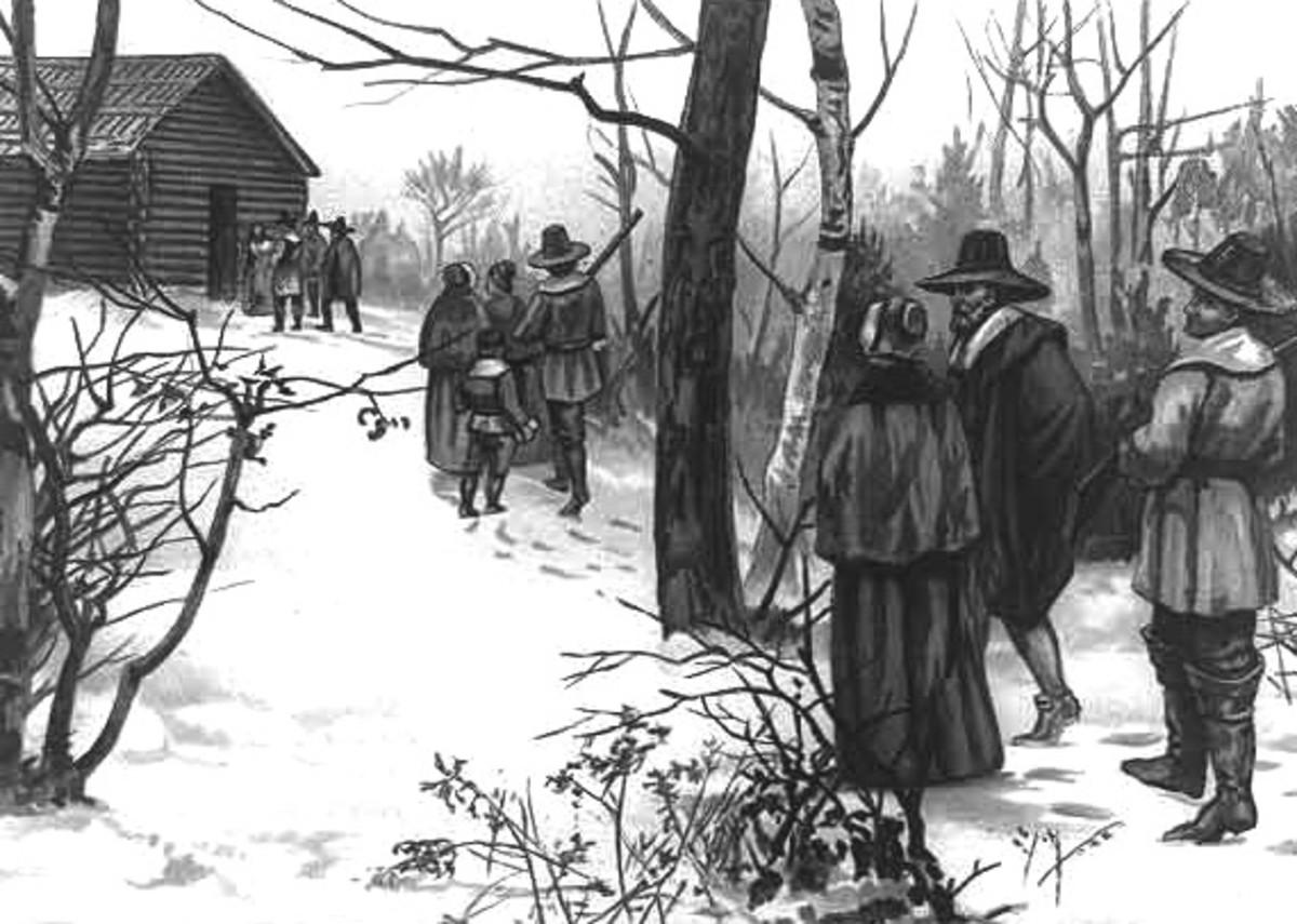 PURITANS GO TO CHURCH